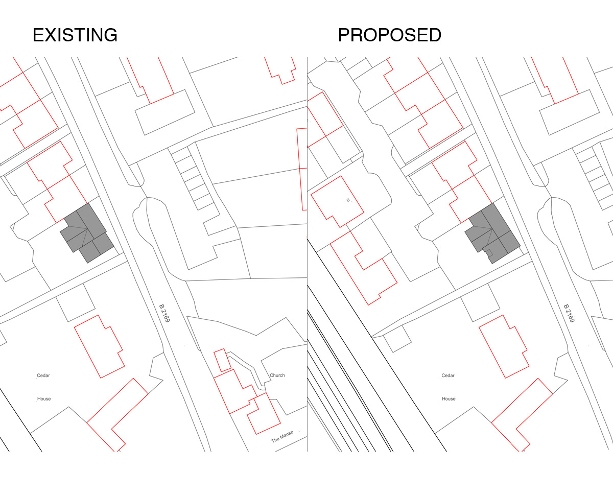 Proposals for 'Broomfield' in the Wealden District. SJM Planning.