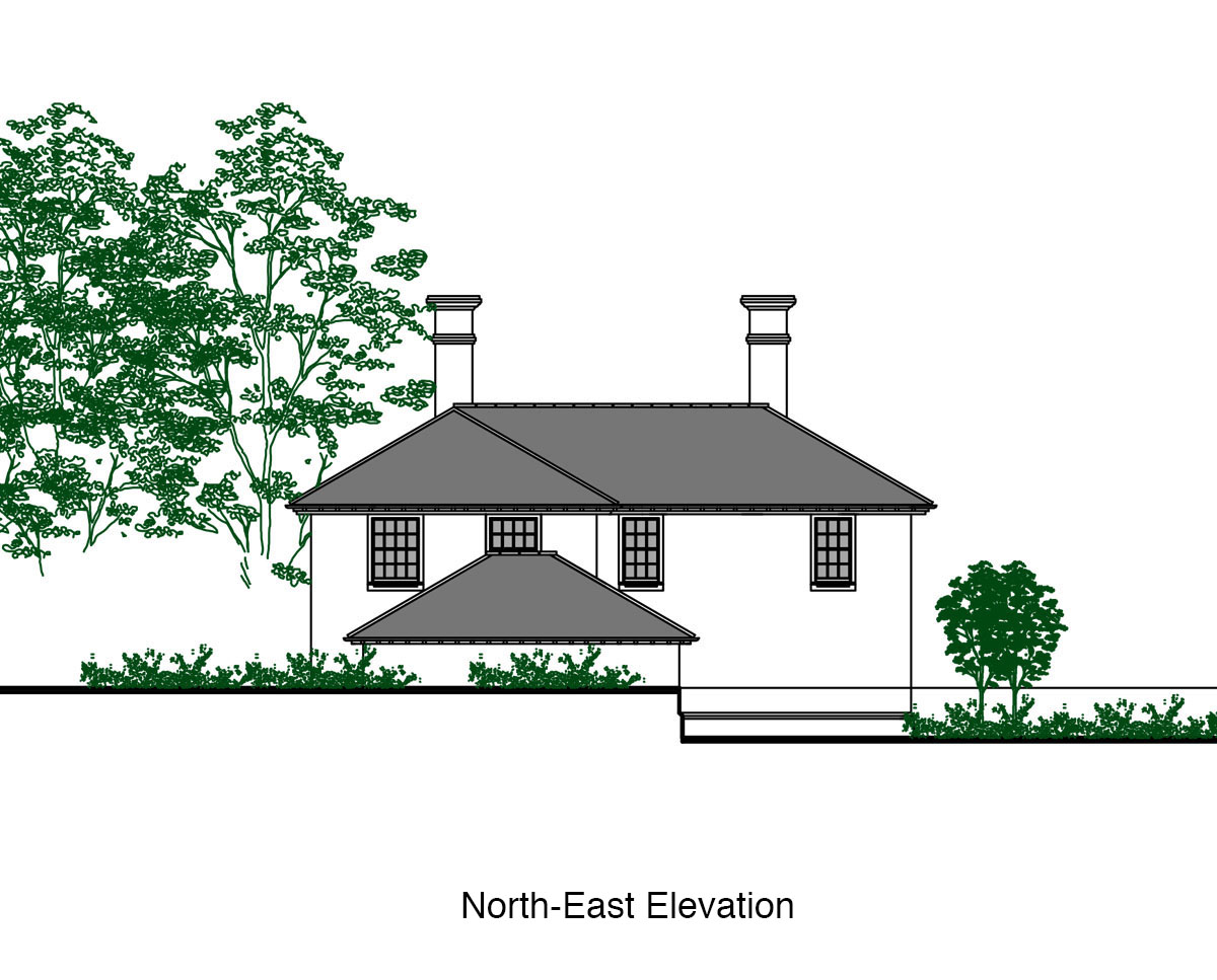 North-East Elevation of 'Burford House' in Tunbridge Wells. SJM Planning.