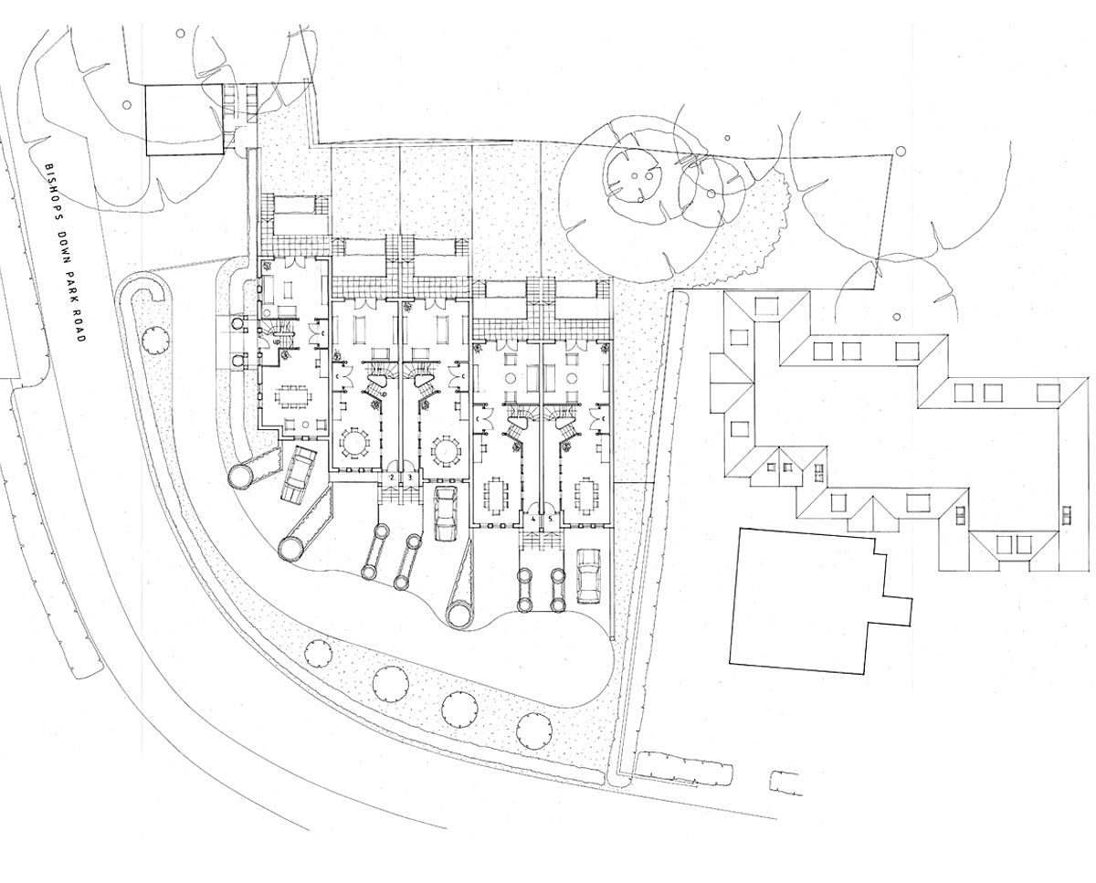 Floor Plans of 'Lakeview' in Tunbridge Wells. SJM Planning.